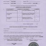 Certificate of Completion Aveda Institute Denver